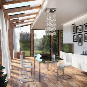 Modernes Esszimmer im Wintergarten - Modern Dining Room / Winter Garden
